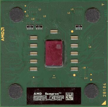 AMD Sempron 2200+ (Thoroughbred) (front side)