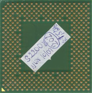 AMD Sempron 2200+ (Thorton) (back side)