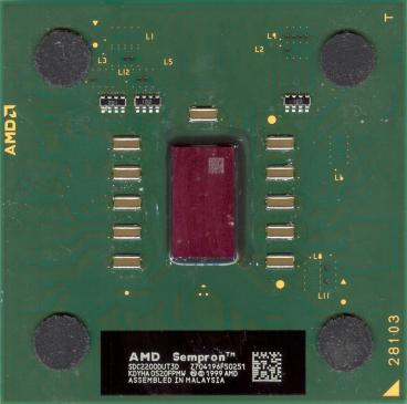 AMD Sempron 2200+ (Thorton) (front side)