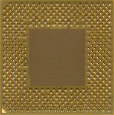 AMD Sempron 2400+ (Thoroughbred) (back side)