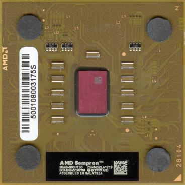 AMD Sempron 2400+ (Thoroughbred) (front side)