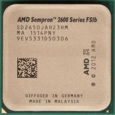 AMD Sempron 2650 (front side)