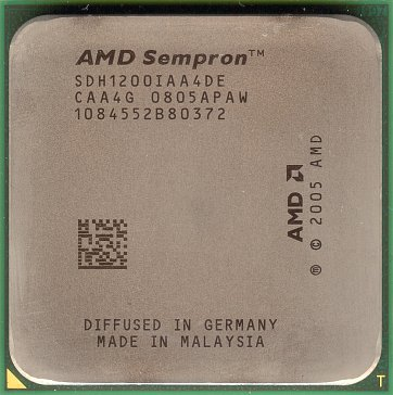 AMD Sempron LE-1200 (front side)