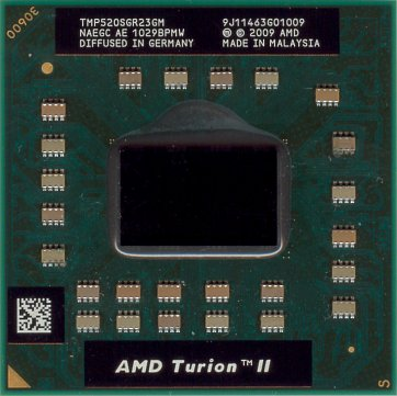 AMD Turion II P520 (front side)