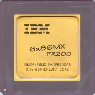 IBM 6x86MX PR200 (front side)