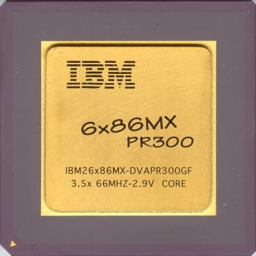 IBM 6x86MX PR300 (front side)