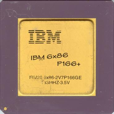 IBM 6x86 P166+ (front side)