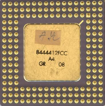 Intel 486 DX2-66 (back side)