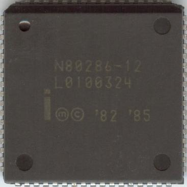 Intel 80286-12 (front side)