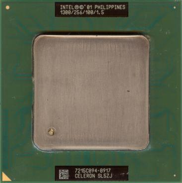 Intel Celeron 1300 (front side)