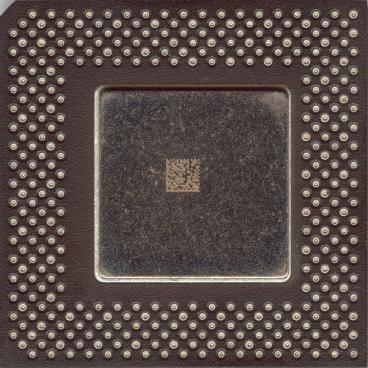 Intel Celeron 333 (front side)