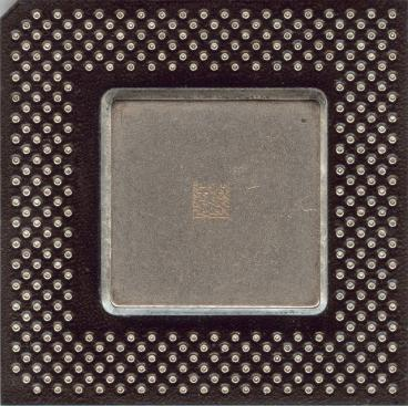 Intel Celeron 400 (front side)