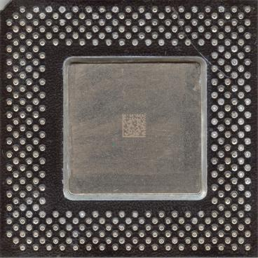 Intel Celeron 533 (front side)