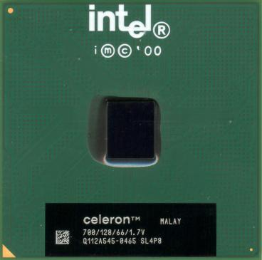 Intel Celeron 700 (front side)
