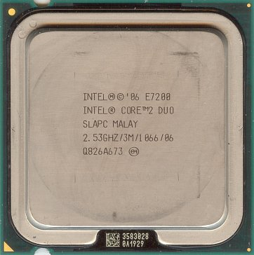 Intel Core 2 Duo E7200