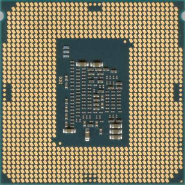 Intel Core i3-6100 (back side)