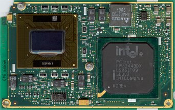 Intel Mobile Celeron Module 300 MHz (front side)