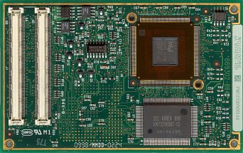 Intel Mobile Pentium MMX 233 (back side)