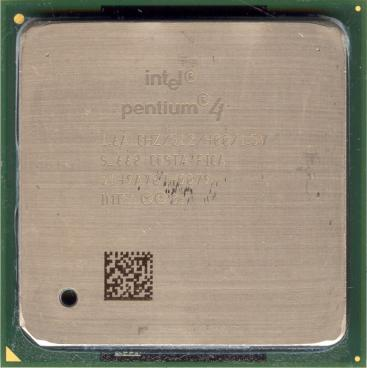 Intel Pentium 4 1.6 GHz Northwood (front side)