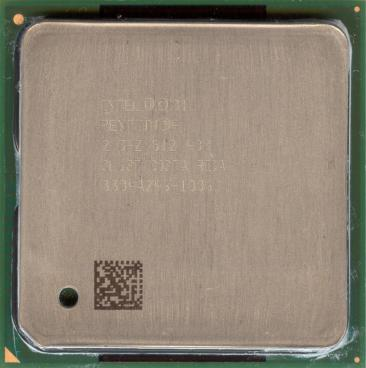 Intel Pentium 4 2.0 GHz Northwood (front side)
