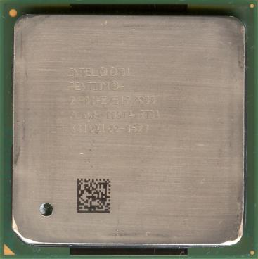 Intel Pentium 4 2.4 GHz Northwood (HT) (front side)