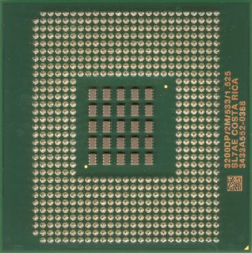 Intel Xeon 3.2 (2MB L3) (back side)