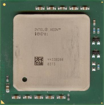 Intel Xeon 3.2 (2MB L3) (front side)
