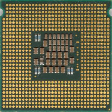 Intel Xeon 5130 (back side)