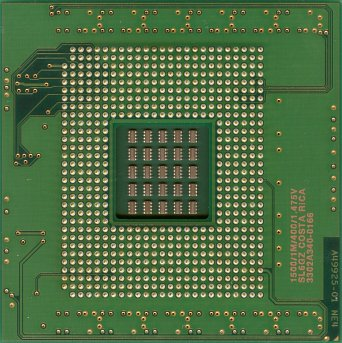 Intel Xeon MP 1.5 (Gallatin) (back side)