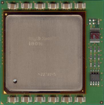 Intel Xeon MP 1.6 (front side)