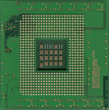 Intel Xeon MP 2.8 (Gallatin) (back side)