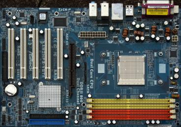 ASRock AM2NF3-VSTA (front side)