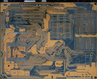 Gigabyte GA-686NX (back side)
