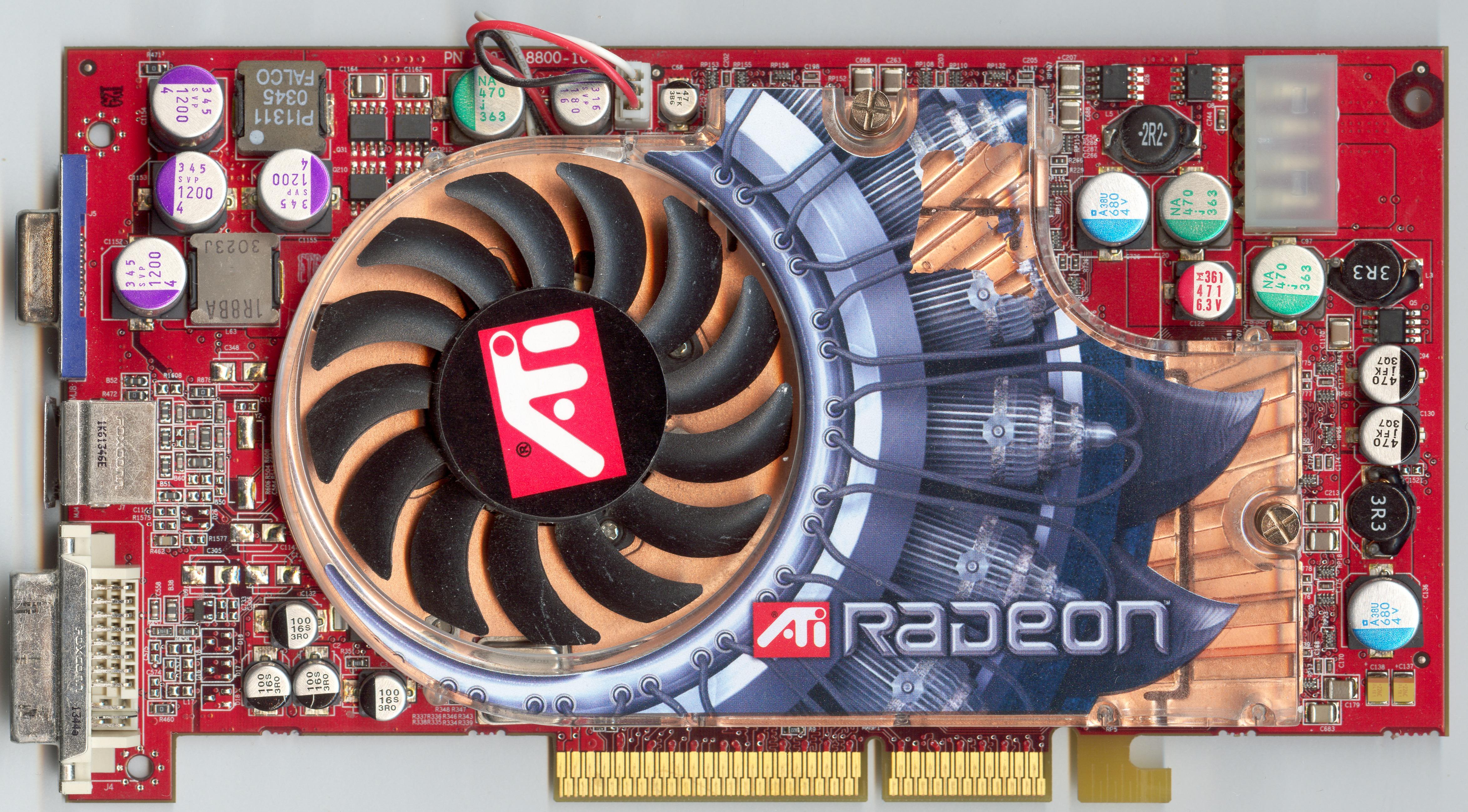 ATi Radeon 9800 XT Front Side