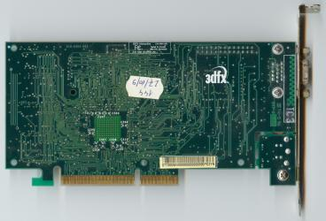 3dfx Voodoo3 2000 AGP rev. C2 (back side)