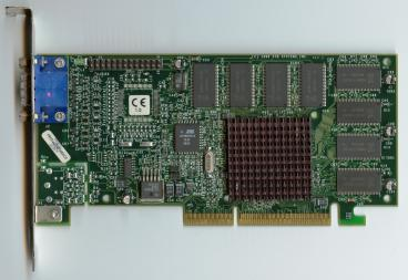 3dfx Voodoo3 2000 AGP rev. C4 (old PCB) (front side)