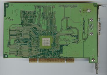 3dfx Voodoo3 2000 PCI SGR rev. C3 (back side)
