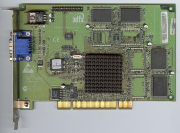 3dfx Voodoo3 2000 PCI SGR rev. C3 (front side)