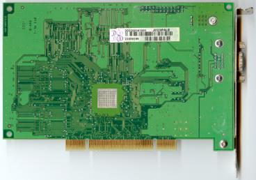 3dfx Voodoo3 2000 PCI SGR rev. D1 (back side)