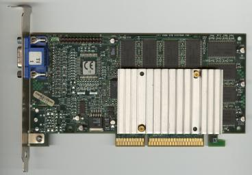 3dfx Voodoo3 3000 AGP non TV-OUT (front side)