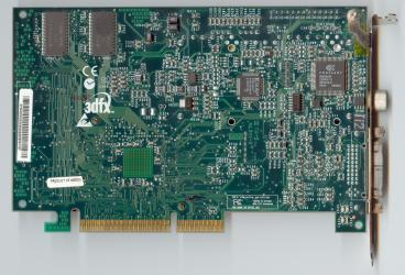 3dfx Voodoo3 3500 TV (5ns SDRAM) (back side)