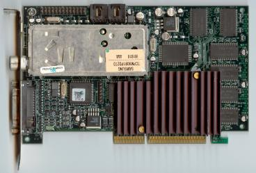 3dfx Voodoo3 3500 TV (5ns SDRAM) (front side)