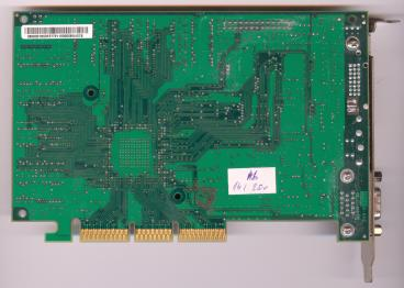 3dfx Voodoo4 4500 AGP rev. 3700 (back side)