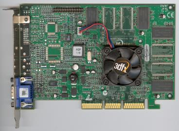 3dfx Voodoo4 4500 AGP rev. 3700 (front side)