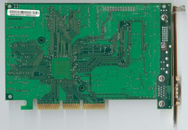 3dfx Voodoo4 4500 AGP rev. 3900 (back side)