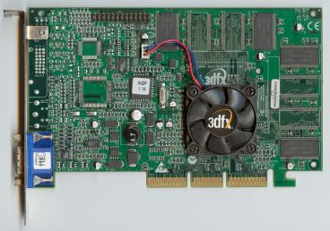 3dfx Voodoo4 4500 AGP rev. 3900 (front side)
