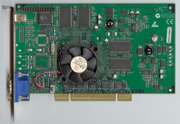 3dfx Voodoo4 4500 PCI (5.5ns SDRAM) (front side)