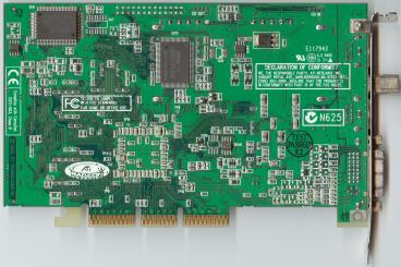 ATi All-in-Wonder Radeon 256 DDR (back side)