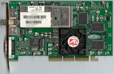 ATi All-in-Wonder Radeon 256 DDR (front side)