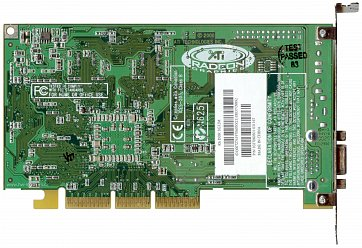 ATi Radeon 256 DDR (back side)